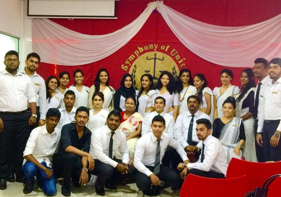 Inauguration ceremony of Students Association of the School of Law