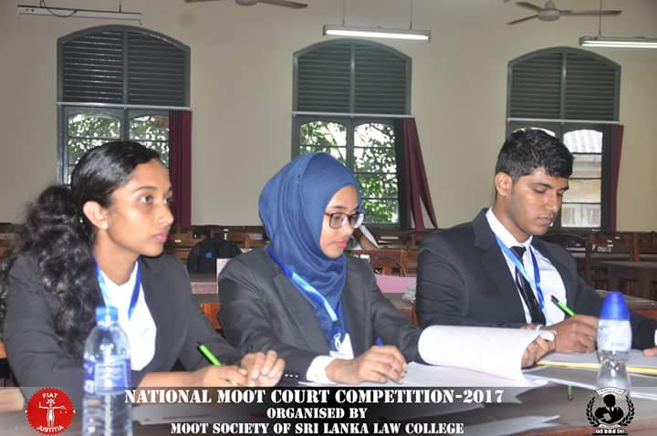 National Moot Court Competition 2017